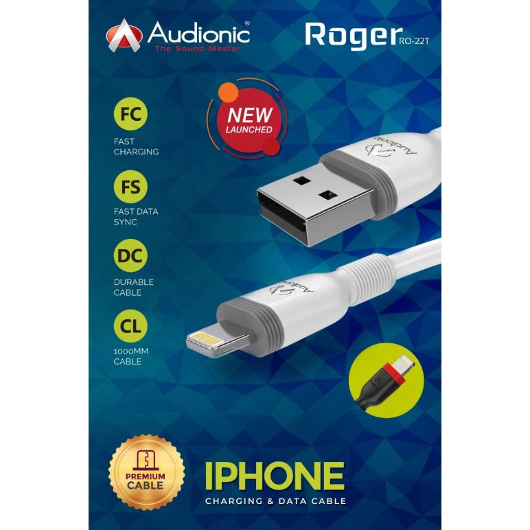 Roger iPhone Data Cable